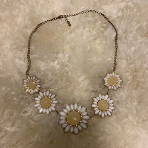 Francesca's flower statement necklace